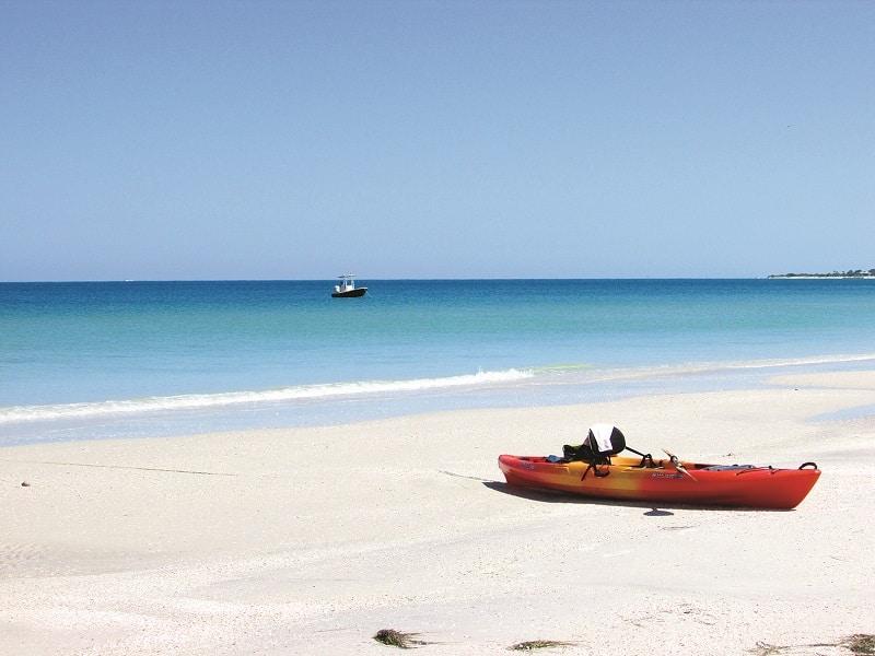 Caladesi Island State Park Beach
