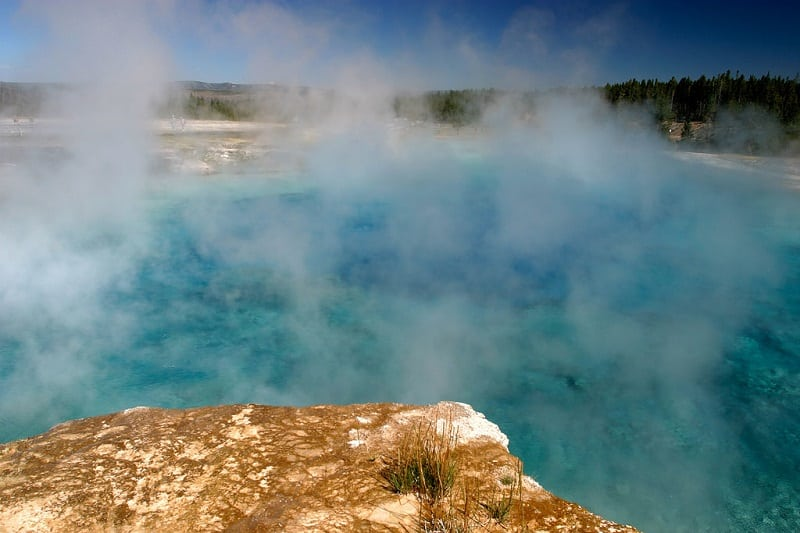 Excelsior Geyser at Yellowstone National Park