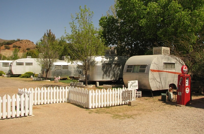 The Shady Dell Vintage Trailers