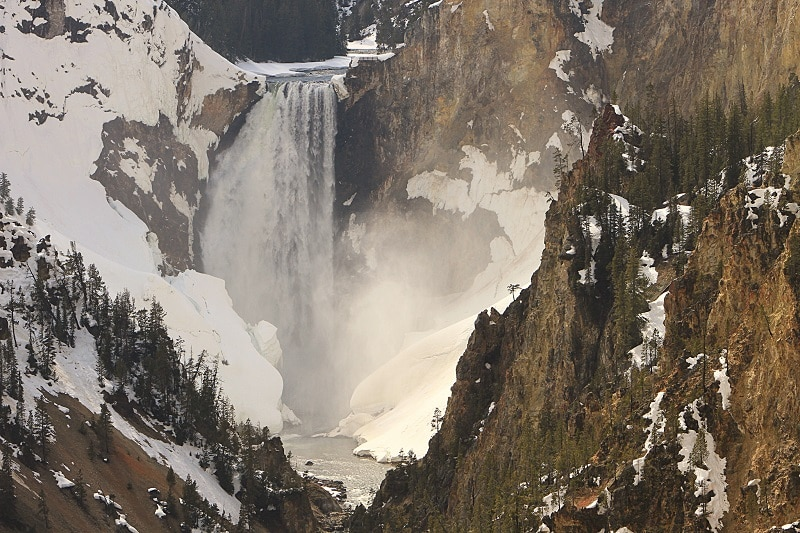 Yellowstone National Park Lower Falls