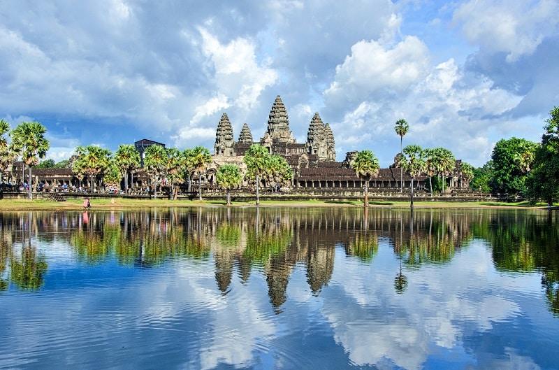 Angkot Wat Temple Cambodia