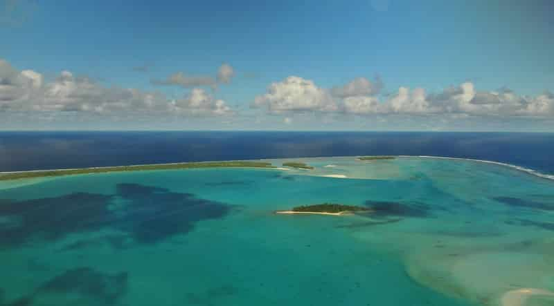 Aitutaki in Cook Islands