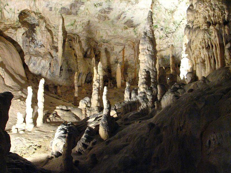 Go underground at the Postojna Cave