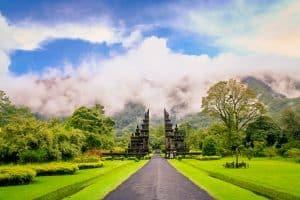Hindu Temple in Bali