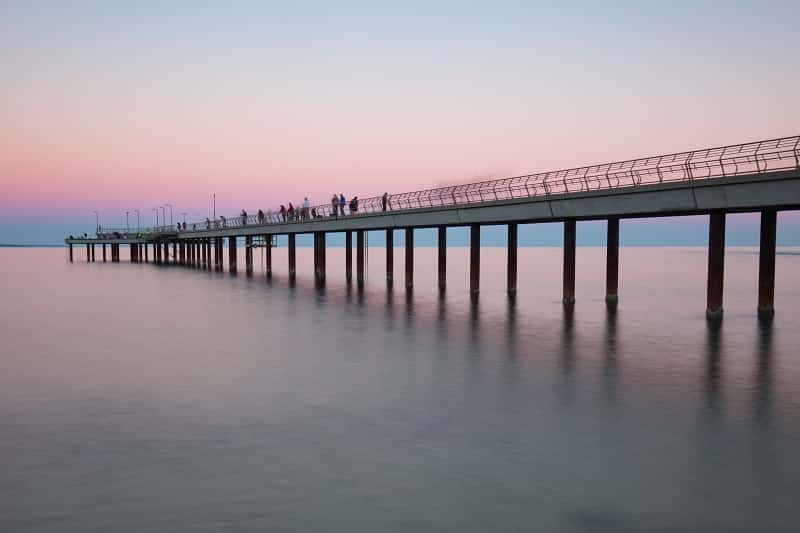 Lorne Pier at Sunset