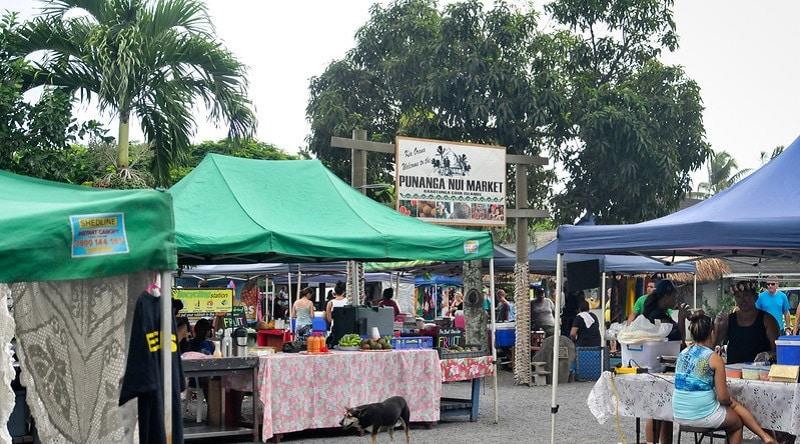 The Punangua Nui Market