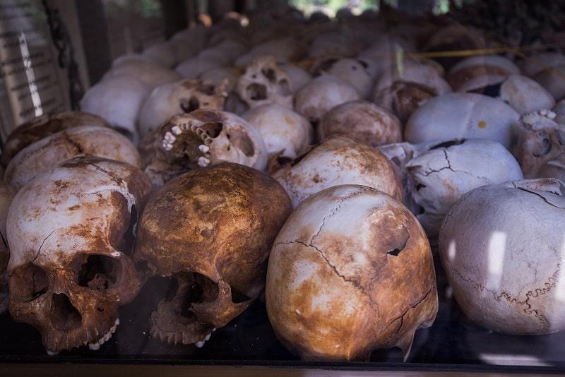 Cambodia death fields