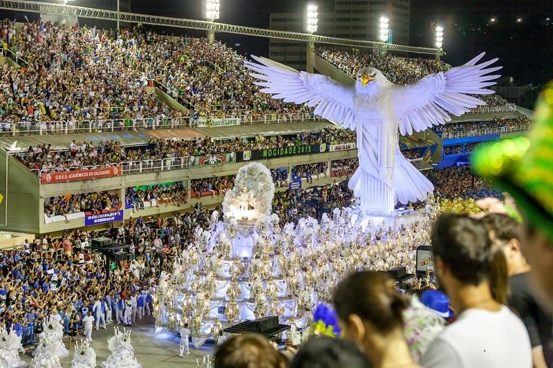 Carnival in Rio de Janeiro in Brazil