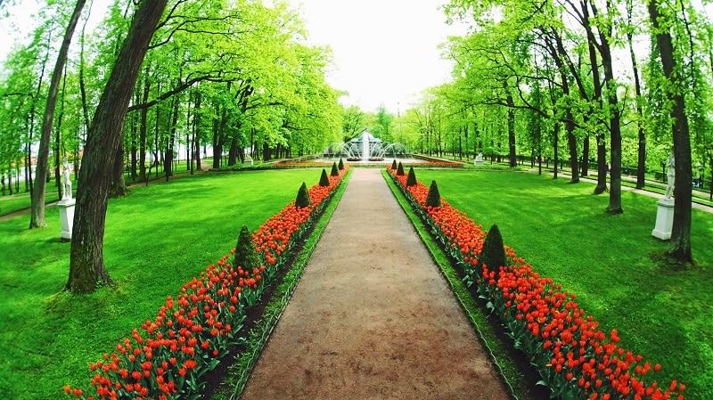 Russian Garden Path