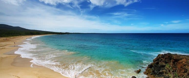 Makena Beach in Maui, Hawaii