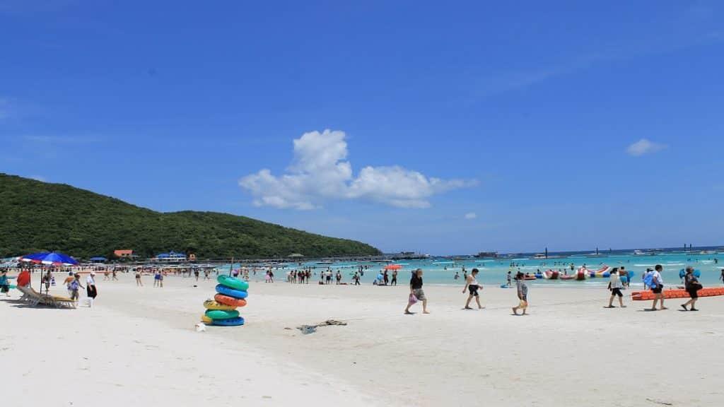 Beach at Koh Larn Island