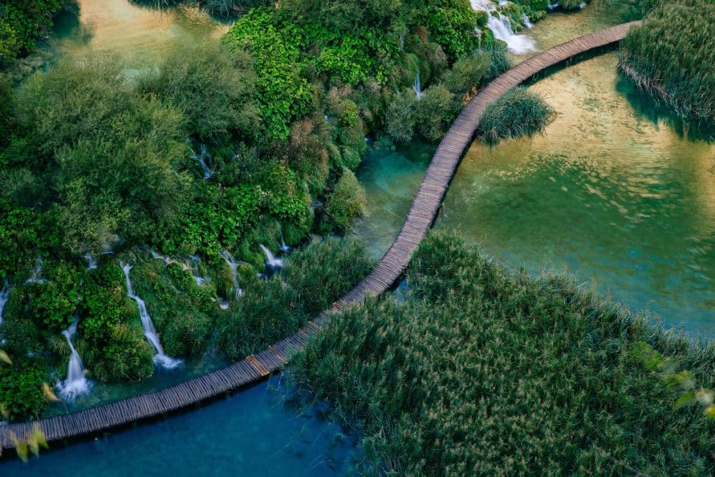 Plitvice Lakes, National Park of Croatia