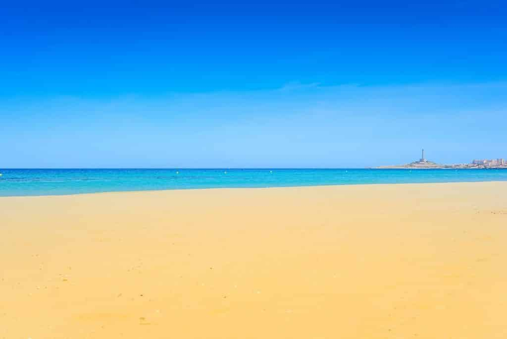 Mar Menor beach. Spain
