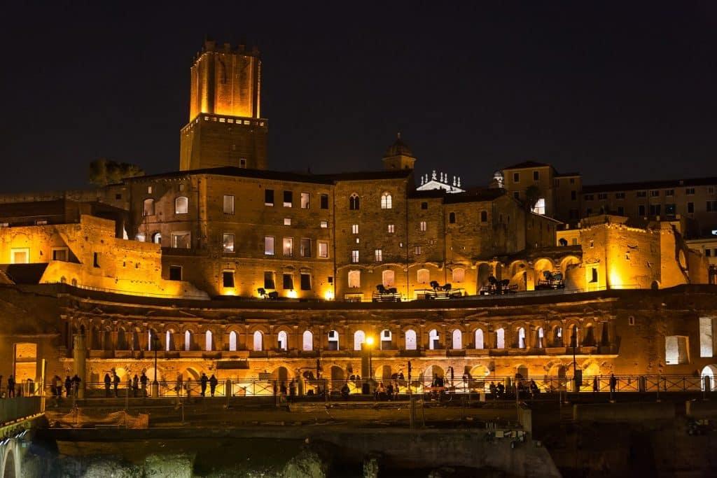 Trajan market, Rome, Italy
